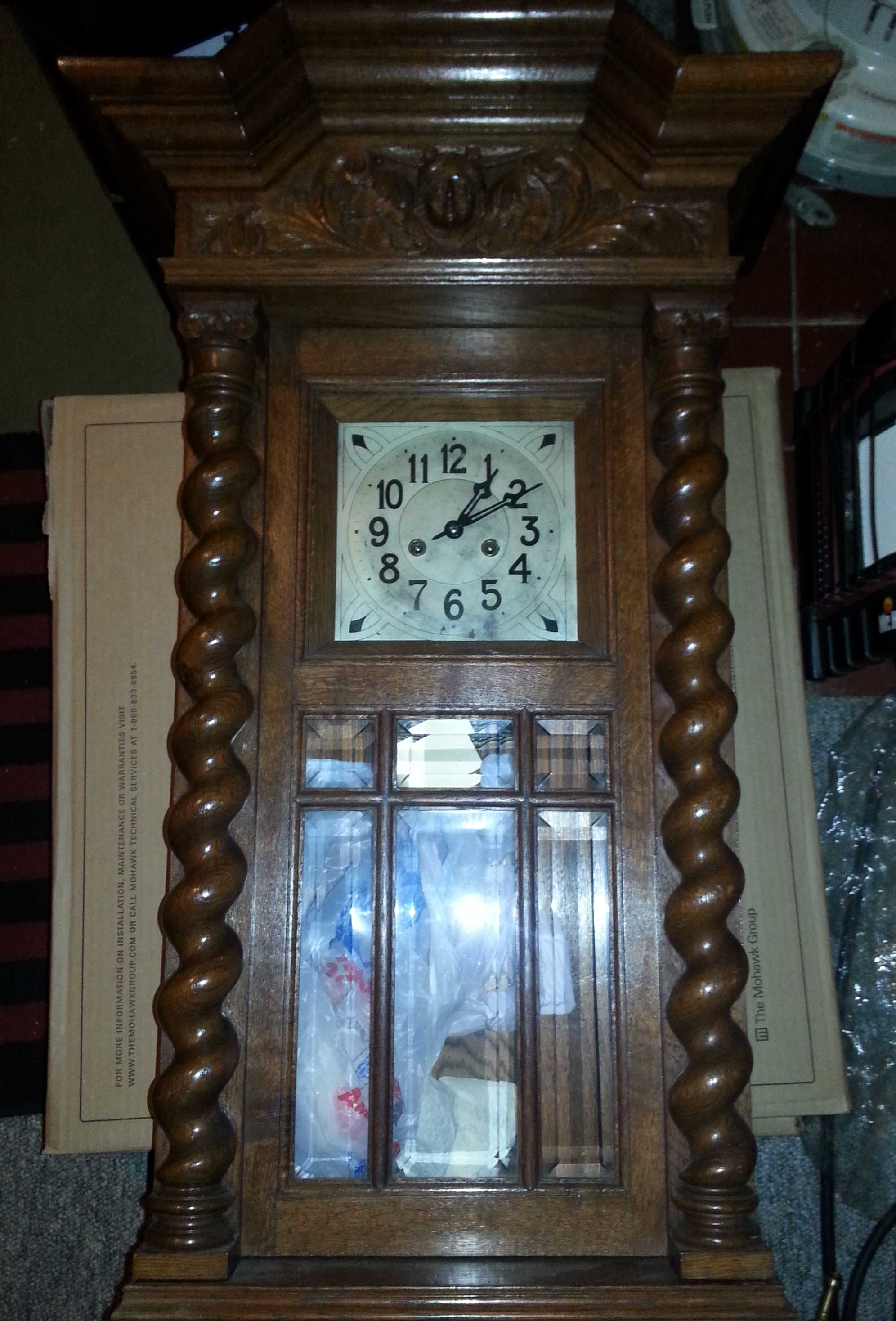 Antique mantel clock repair near me